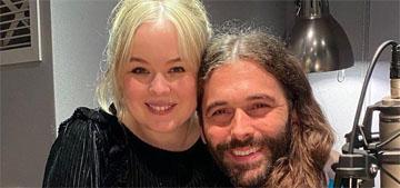 Jonathan Van Ness and Nicola Coughlan are besties who met on Instagram