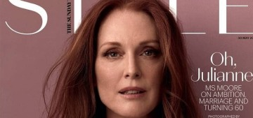 Julianne Moore talks about turning 60, doing radio frequency & microneedling