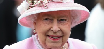 Queen Elizabeth finds the word 'pregnant' vulgar, she prefers 'in the family way'