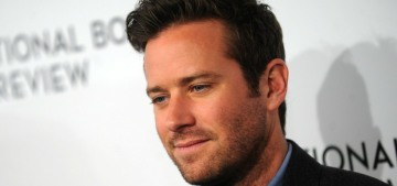 Armie Hammer checked into a rehab facility for drugs, alcohol & other issues