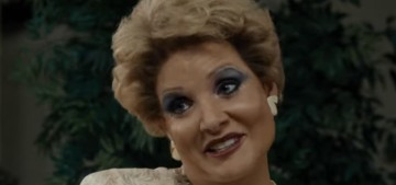 Jessica Chastain nails the look, accent, tragedy & glamour of Tammy Faye Bakker