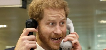 Prince Harry was supposed to submit his daughter's name in writing for approval!  LOL.