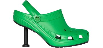 """""""The Balenciaga stiletto Crocs are coming to murder your ankles"""" links"""