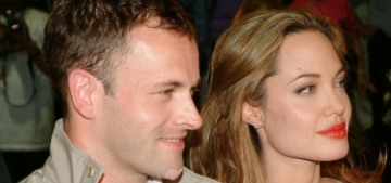 Wow, Angelina Jolie visited Jonny Lee Miller's apartment a few times