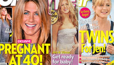 OK! Magazine claims Jennifer Aniston is pregnant