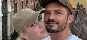 Orlando Bloom and Katy Perry are loved up in Venice, Italy