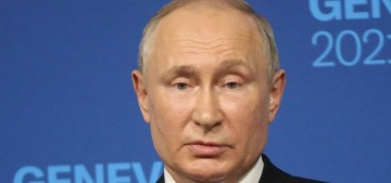 Vladimir Putin: 'In life there is no happiness, there's only the specter of happiness'