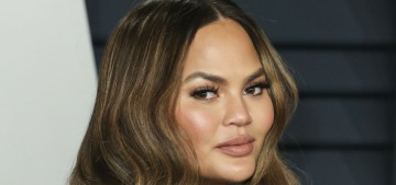 Chrissy Teigen is fine, she apparently wants to do a big interview with Oprah