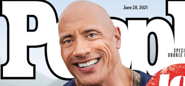 Dwayne Johnson covers People, is still talking about running for President