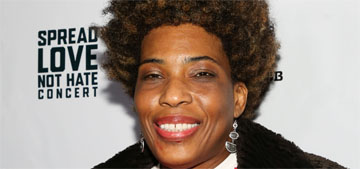 Macy Gray: The American flag needs to be redesigned as it no longer represents us