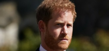 VF: Prince Harry will travel alone to the UK later this week & he'll stay at Frogmore