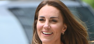 Duchess Kate wore jeans & a £1,795 Chloe blazer to the Natural History Museum