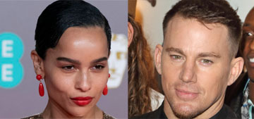 Zoe Kravitz told Channing Tatum to stop wearing Crocs and so he did