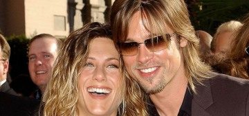 Jennifer Aniston: Brad Pitt & I 'are buddies, we're friends, there's no oddness at all'