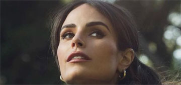 Jordana Brewster flew to see a guy she met once before, days after her separation