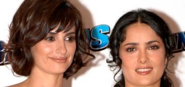 Salma Hayek explains why she didn't tell Penelope Cruz about Harvey Weinstein