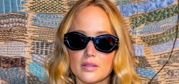 Jennifer Lawrence stepped out at the Dior show for her first 'event' in nearly two years