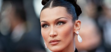 Bella Hadid in Gaultier at the Cannes Film Festival opening night: stunning?