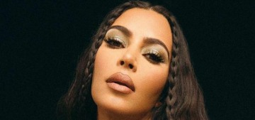 Kim Kardashian is revamping her KKW Beauty line & starting a home-goods line