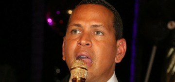 Alex Rodriguez wants J.Lo to know that he was surrounded by women, okay?