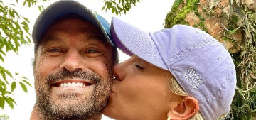 Brian Austin Green half dissed Meghan Fox in a caption to a photo with his girlfriend
