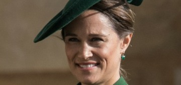 Pippa Middleton went to the Euro match too, but she didn't sit with Prince William