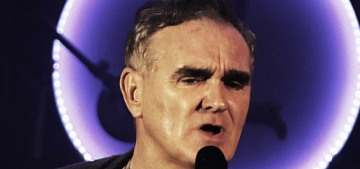 Morrissey thinks pandemic restrictions are like 'slavery,' and calls it 'Con-vid'