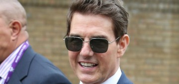 Tom Cruise & Hayley Atwell attended the Wimbledon women's final together