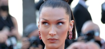Bella Hadid wore the Schiaparelli 'lungs' ensemble in Cannes: stunning or weird?