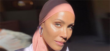 Jada Pinkett Smith shaved her head: 'Willow made me do it… it was time'