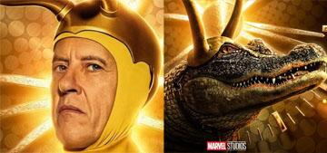 Richard E. Grant wants a spinoff with classic Loki and alligator Loki