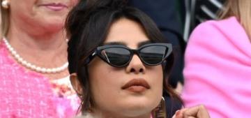 Did Priyanka Chopra 'snub' Duchess Kate at the Wimbledon women's final?