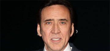 Nicolas Cage isn't going to star in a Tiger King series: 'it's no longer relevant'
