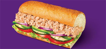 Subway launched a website to show their tuna is 100% real tuna