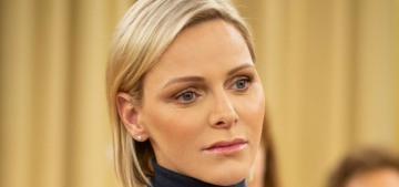 Has Princess Charlene been setting up a new life for herself in Johannesburg?