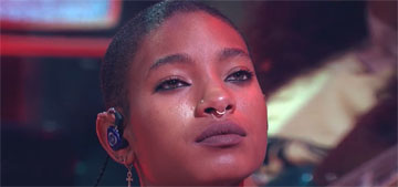 Willow Smith shaved her head in a performance: I want to promote expression
