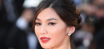 """Gemma Chan looked incredible in Oscar de la Renta in Cannes"" links"