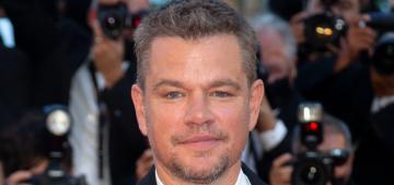 Matt Damon's teenage daughter often tells him that his movies suck