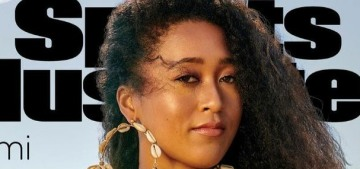 Naomi Osaka got one of the SI: Swimsuit Edition covers & fascists were triggered