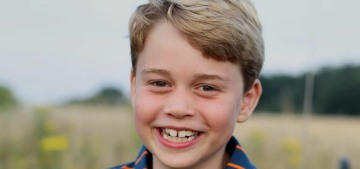 Kensington Palace released a photo of Prince George for his eighth birthday