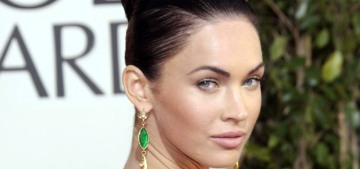 Megan Fox stopped drinking after she got belligerent at the 2009 Globes