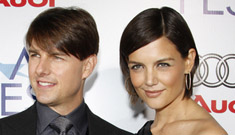 Tom Cruise and Katie Holmes look like brother and sister