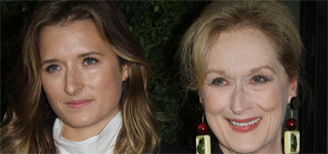 Is Meryl Streep trying to convince daughter Grace to get married at home?