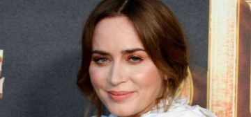 """""""Emily Blunt's puffy shirt belongs in the Ugly Blouse Hall of Fame"""" links"""