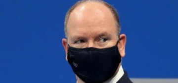 Prince Albert is in Tokyo for the Olympics while Charlene remains in South Africa