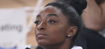 Simone Biles also withdrew from the vault & uneven bar competitions