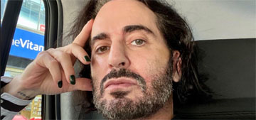 Marc Jacobs on his facelift: Olive oil is 'not why your neck is tight'