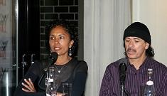 Carlos Santana's wife is divorcing him