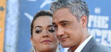 Taika Waititi & Rita Ora made their red-carpet couple debut at an LA premiere
