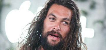 Jason Momoa is 'bummed' that action films are 'not respected at the Oscars'